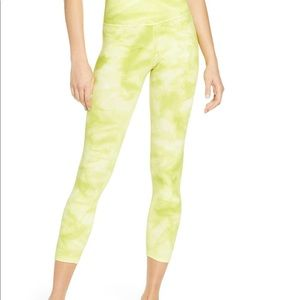 Free people shanti leggings tie dye